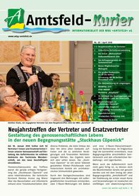 Amtsfeldkurier Nr 65 April 2016